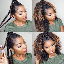 women of color twist hairstyles autumn winter natural hair color inspiration ombre fall