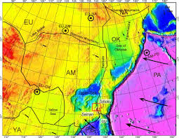 Map Of Tectonic Plates Tectonic Process Of The Sedimentary Basin Formation And Evolution