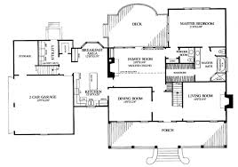 Colonial Floor Plans House Plan 86222 At Familyhomeplans Com