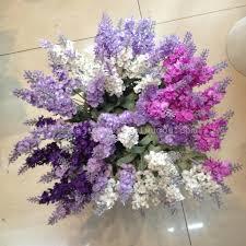 Artificial Flowers Wholesale Supply 10 Provence Lavender Bouquet 4 Colors Choose Artificial