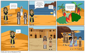 the passover story storyboard by nlm1