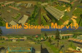 Slovakia Map Little Slovakia Map V1 0 For Farming Simulator 2013 Download