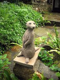 garden ornaments large meerkat garden ornaments meercat statues