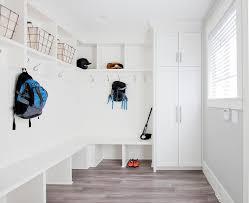 Built In Bench Mudroom Mudroom Bench Overhead Shelves Design Ideas