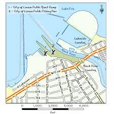 Sandusky Ohio Map by Odnr Coastal Lake Erie Public Access