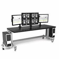 Anthro Sit Stand Desk by Medical Computer Workstation Radiology Height Adjustable