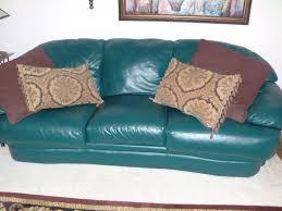 Slipcover For Leather Sofa by Charming Unique Couch Covers With Glossy Green Leather Couch Cover