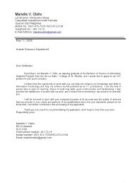 cover letter for resume for ojt