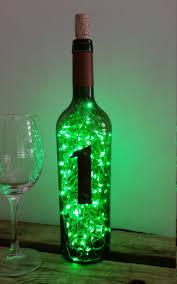 led bottle l wine bottle mood lighting light green bottle