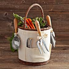 agrarian tool basket williams sonoma