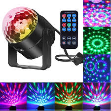 sound activated dj lights comwinn disco lights sound activated strobe light disco ball dj