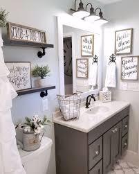 Farmhouse Bathroom Ideas Gorgeous 110 Spectacular Farmhouse Bathroom Decor Ideas Home