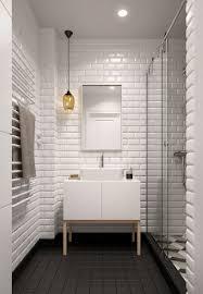 Modern White Bathroom - white bathroom tiles best 25 white tile bathrooms ideas on