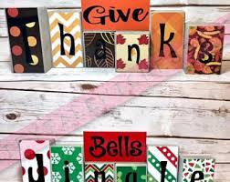 give thanks blocks jingle bells reversible block set fall
