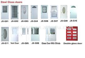 Exterior Door Inserts Exterior Steel Doors With Glass Outstanding Exterior Glass Door