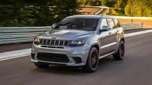 jeep hellcat truck 2018 jeep grand cherokee trackhawk first drive hellcat all the things