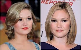 haircut for big cheekbones celebrity hairstyles for fat chubby face cinefog