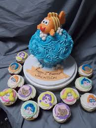 guppies cake toppers guppies themed cut cupcake toppers hey cupcake