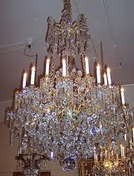 Vintage Crystal Chandeliers Crystal Chandeliers Chc82 For Sale Antiques Com Classifieds