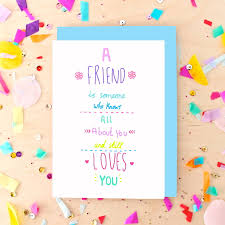 best friend quote greeting card by pickle
