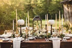 fall table settings ideas 20 elegant thanksgiving table decorations ideas