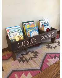 Rustic Nursery Decor Amazing Shopping Savings Bookshelf Book Storage Bin Book