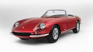 ferrari classic models this ferrari 275 spider will sell for millions top gear