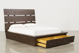 Queen Beds With Storage Livingston Queen Storage Bed Living Spaces