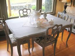 painting dining table