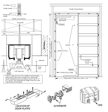 Typical Floor Framing Plan by Pocket Door Framing Google Search Building Components