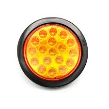 4 inch round led lights 4 inch round led stop turn tail lights with rubber grommets for