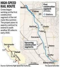 california high speed rail map groundbreaking at fresno for california high speed rail the