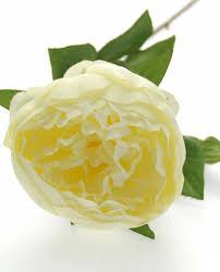Silk Wedding Flowers Cream Peony Silk Wedding Flower Sample Sarah U0027s Flowers