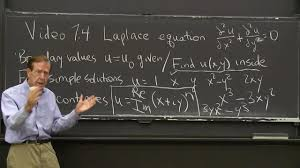 differential equations and linear algebra 7 4 laplace equation