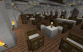 Titanic First Class Dining Room To Scale Replica Of The Rms Titanic For Minecraft Pe Maps