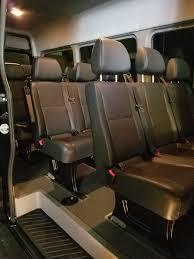 Sprinter Bench Seat Prestige Limousines Travel In Luxury With This Mercedes Sprinter Van