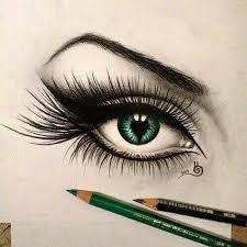 green eye drawing art pinterest eye drawings green eyes and
