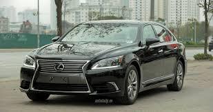 xe sang lexus lx570 cận cảnh sedan hạng sang lexus ls460l 2016 tại hà nội