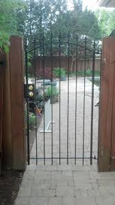 entrance iron gates photo