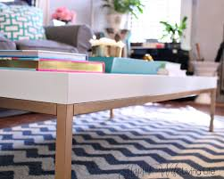 golden boys and me coffee table ikea hack coffeet thippo