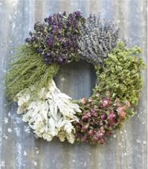 herb wreath in with this herb wreath organic bouquet s six herb wreath