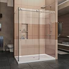 34 Shower Door Dreamline Enigma X 34 1 2 In D X 56 3 8 60 3 8 In W Frameless