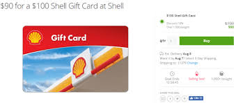 gasoline gift cards groupon 100 shell gift card for 90 danny the deal guru