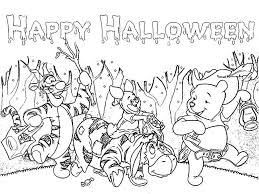 4 picture happy halloween coloring pages kids u003e u003e disney