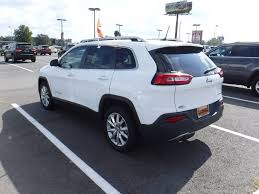 2016 used jeep cherokee limited 1 owner leather u0026 backup
