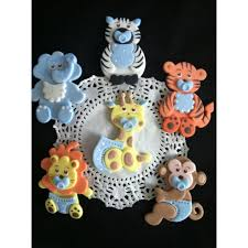 safari cake toppers jungle safari birthday party safari baby shower theme favors