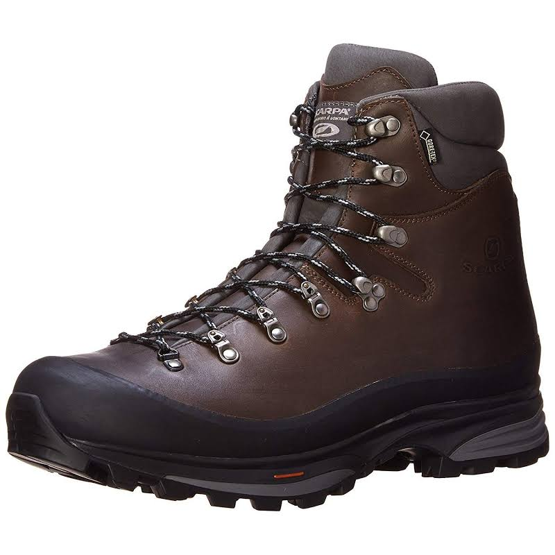Scarpa Kinesis Pro GTX Backpacking Boots Ebony Medium 45.5 61000/201-Eby-45.5