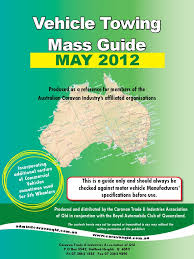 towing mass limits or vehicle mass towing guide