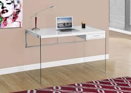 jarren computer desk gloss white leon u0027s