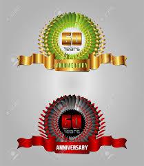 celebrating 60 years birthday 60 year birthday celebration 60th anniversary set royalty free